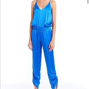 Lowell Jumpsuit silk in cobalt brand new w tags